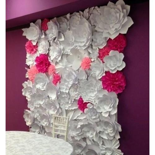 """Бумажные цветы """"Габриэла"""""""