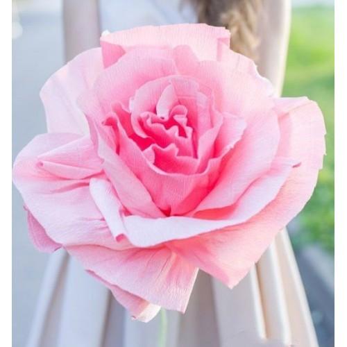 Гигантский бумажный цветок «Розовая роза»