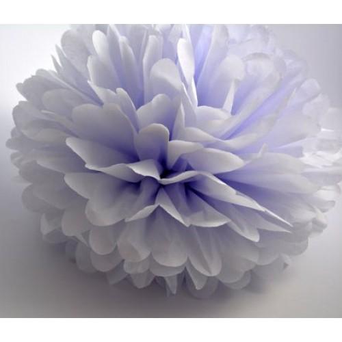 Бледно-голубой помпон для оформления