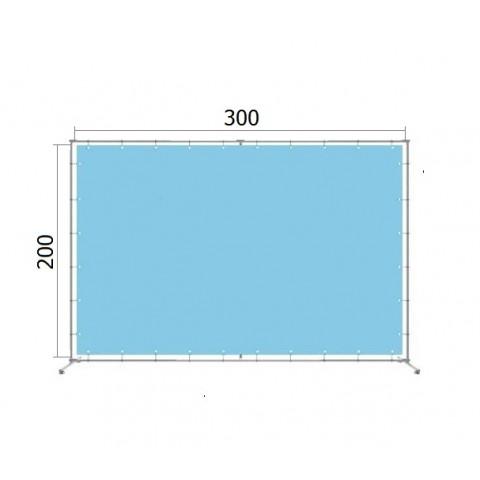 Джокерная конструкция каркас для баннера пресс-волла 200*300 см (2*3 м)