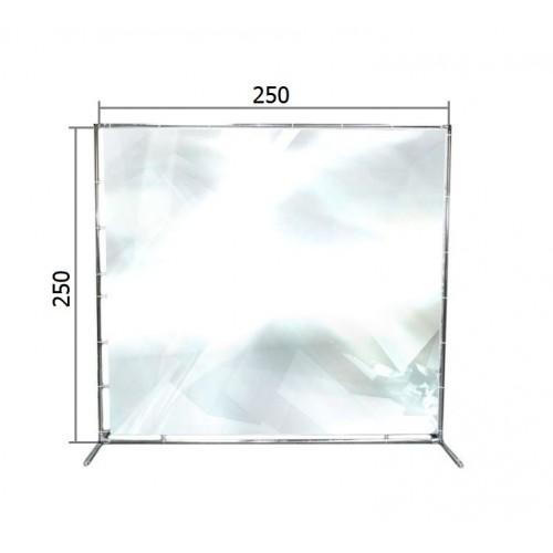 Джокерная конструкция каркас для баннера пресс-волла 250*250 см (2,5*2,5 м)