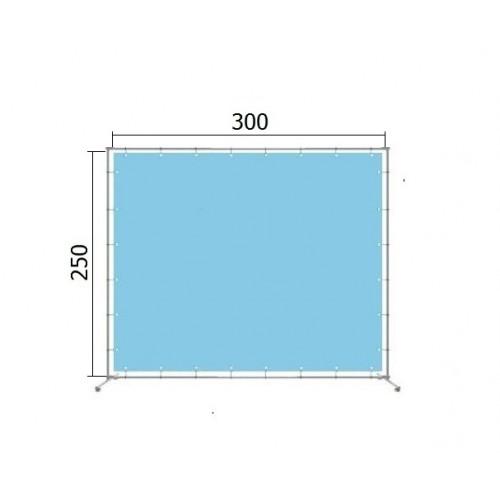 Джокерная конструкция каркас для баннера пресс-волла 250*300 см (2,5*3 м)