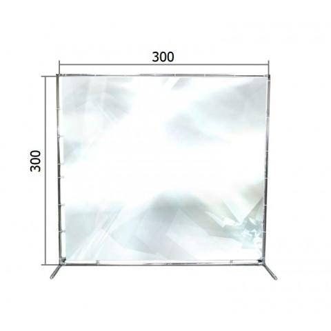 Джокерная конструкция каркас для баннера 300*300 см (3*3 м)