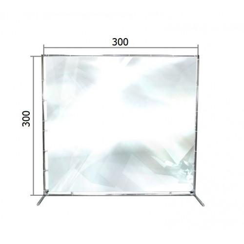 Джокерная конструкция каркас для баннера пресс-волла 300*300 см (3*3 м)