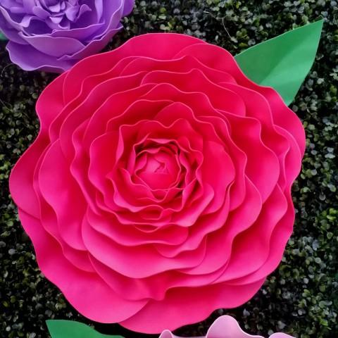 """Цветок  из фоамирана """"Кёрли"""""""