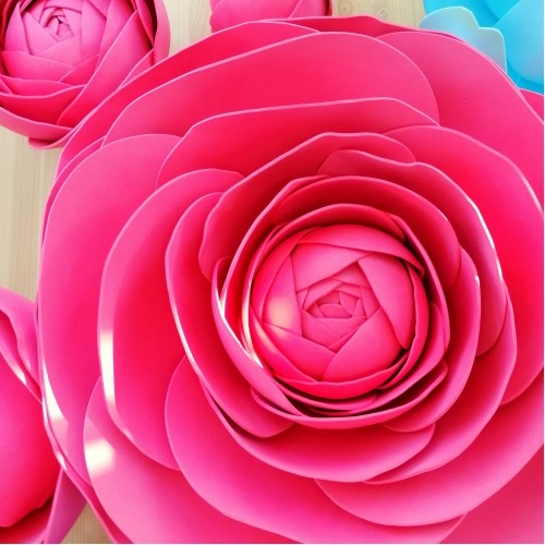 "Цветок  из фоамирана ""Ранункулюс"""