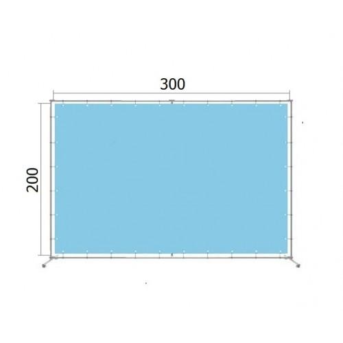 Аренда джокерной конструкции для баннера 200*300 см (2*3 м)