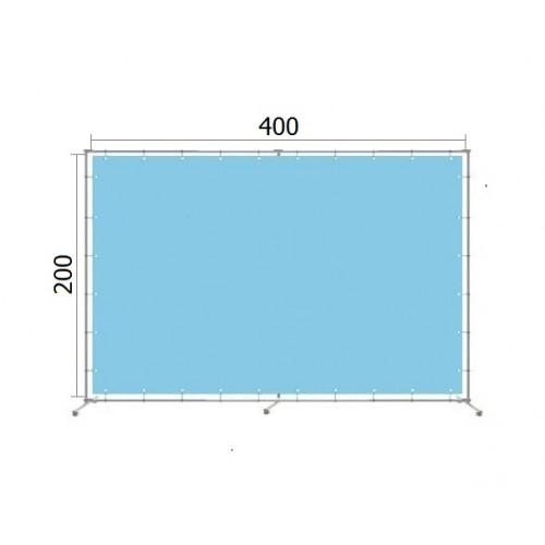Джокерная конструкция каркас для баннера пресс-волла 200*400 см (2*4 м)