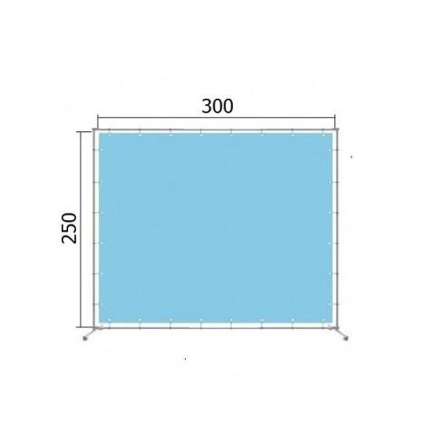 Аренда джокерной конструкции для баннера 250*300 см (2,5*3 м)