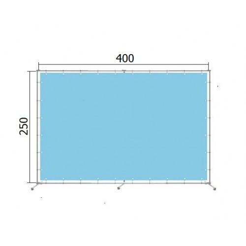 Джокерная конструкция каркас для баннера пресс-волла 250*400 см (2,5*4 м)