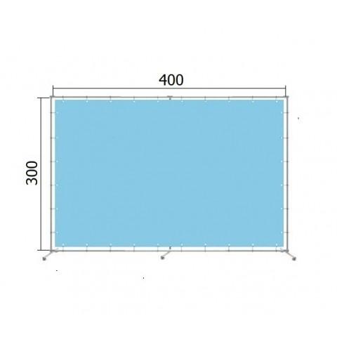 Джокерная конструкция каркас  для баннера пресс-волла 300*400 см (3*4 м)