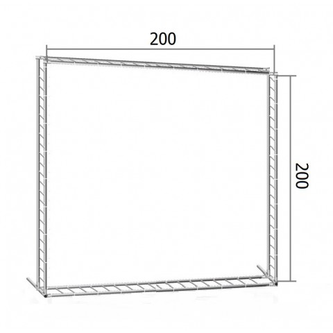 Каркас TRITIX для баннера пресс-волла 200*200 см (2*2 м)