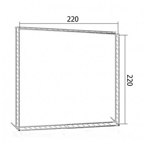 Каркас TRITIX для баннера пресс-волла 220*220 см (2,2*2,2 м)