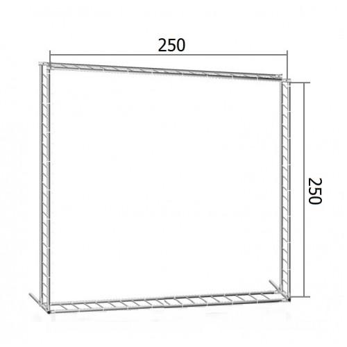 Каркас TRITIX для баннера пресс-волла 250*250 см (2,5*2,5 м)