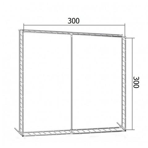Каркас TRITIX для баннера пресс-волла 300*300 см (3*3 м)