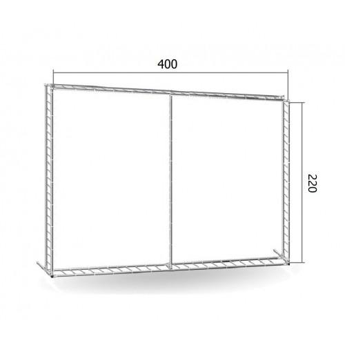 Каркас TRITIX для баннера пресс-волла 220*400 см (2,2*4 м)