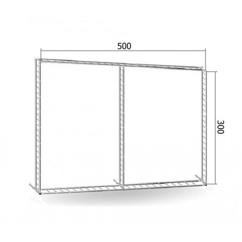 Каркас TRITIX для баннера пресс-волла 300*500 см (3*5м)