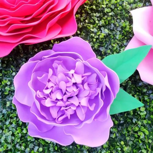 "Цветок  из фоамирана ""Пион"""