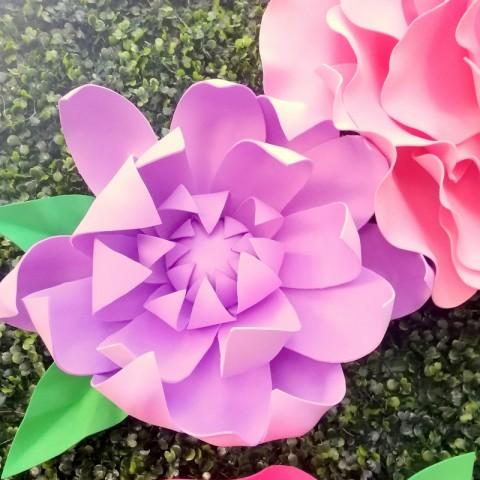 """Цветок  из фоамирана """"Сирень"""""""