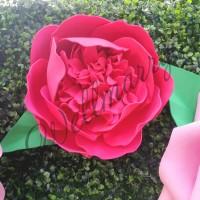 """Цветок  из фоамирана """"Пион Глори"""""""