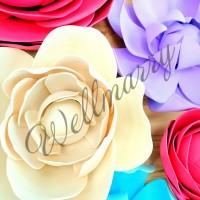 "Цветок  из фоамирана ""Ваниль"""