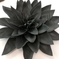 """Цветок  из фоамирана """"Хризантема черная"""" (цвет любой по договоренности)"""