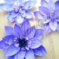 """Цветок  из фоамирана """"Хризантема сиреневая"""""""