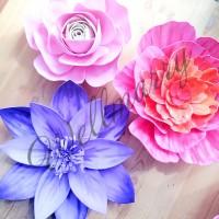 "Цветок  из фоамирана ""Миранда"""