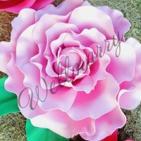 "Цветок  из фоамирана ""Пион розовый"""