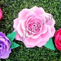 """Цветок  из фоамирана """"Роза"""""""