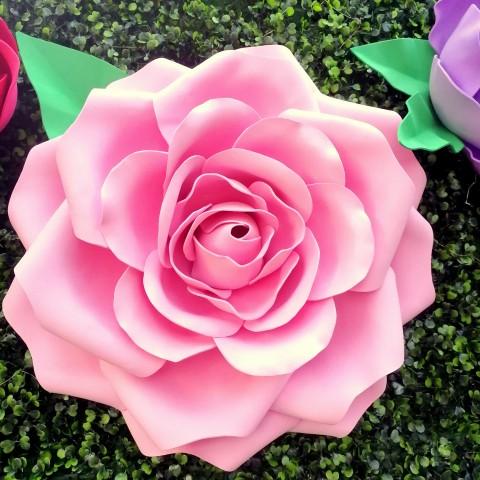 """Цветок  из фоамирана """"Роза"""" (любой цвет по договоренности)"""