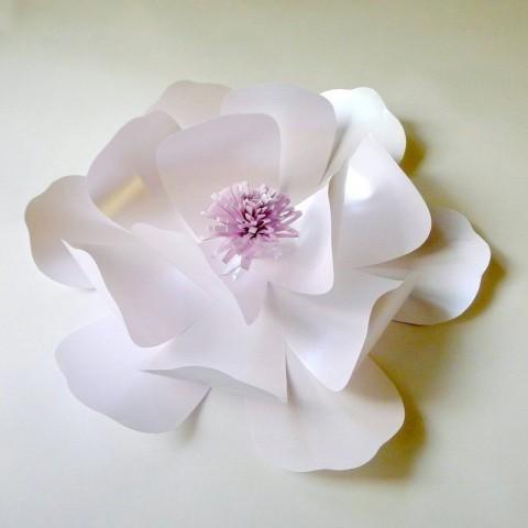 """Бумажный цветок для оформления """"Сюзанна"""" (любой цвет, по договоренности)"""